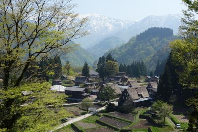 2018連休 富山からバスで白川郷・五箇山へ 五箇山はほっこり、静か