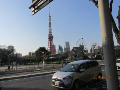 東京100景(3)東京ウオーク35キロ・代々木公園を通り抜け、芝公園まで。