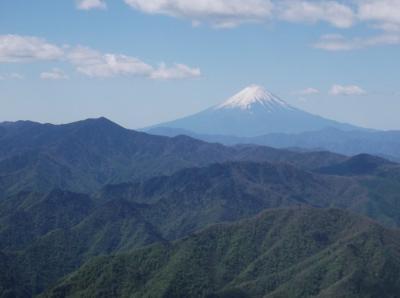 GWの笠取山・唐松尾山