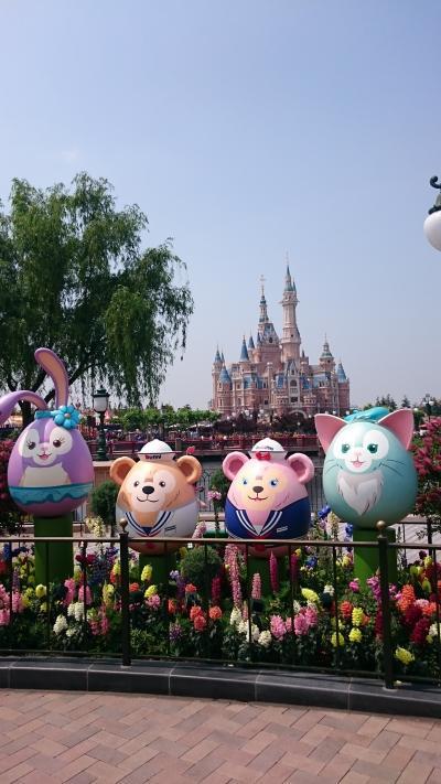 201805,GW小学生と北海道から上海へ,2-1,上海ディズニーは混んでた!