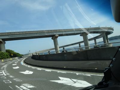 巨岩・奇岩の紀伊半島で車中泊 その4 紀伊大島の樫野崎灯台と海金剛