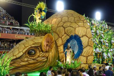 リオのカーニバルと絶景の南米浪漫周遊13日間⑨お待たせしました、本当にリオのカーニバル編!!