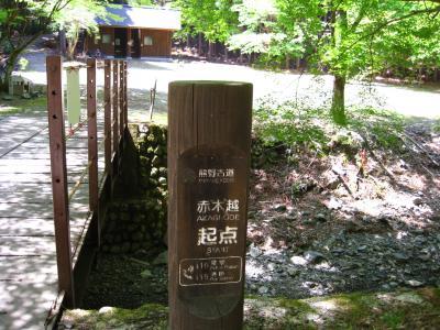 熊野古道: 赤木越え3 Uターン