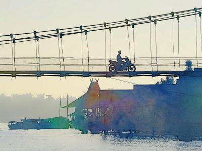 バンジャルマシン一人旅2*・゜・*インスタ映え写真を撮りたくて行ってみたけど*・゜・*