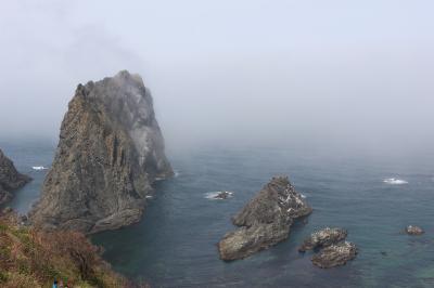 北海道2泊3日一人旅③ 定期観光バスで積丹半島へ しゃこたんブルーは?