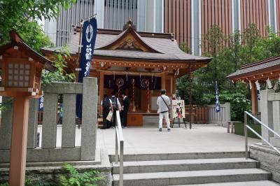 宝くじにご利益☆福徳神社(芽吹稲荷)( Fukutoku Jinja Shrine )周辺散歩♪