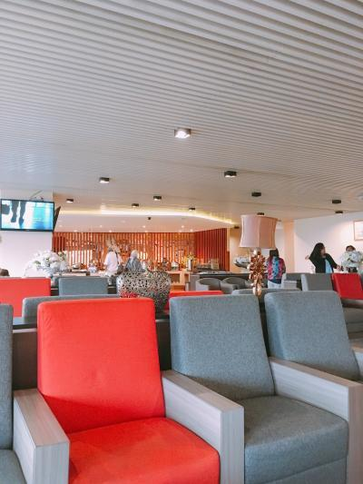【ジャカルタ空港】往路★国際線(ANA)→国内線(エアアジア)・ターミナル2利用情報 ※国内線でもプライオリティパス使えるラウンジありました!