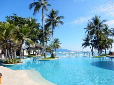 パパ目線による3歳愛娘とのサムイ島旅行記 ①(Melati Beach Resort & Spa)_初日