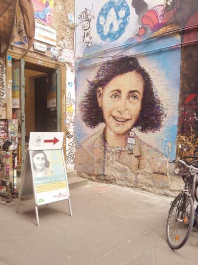 ベルリンひとり旅<2日目> ドイツの歴史探訪:アンネフランクセンター~ベルリンの壁