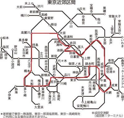 乗り鉄も修行か!?JR大回り、190円切符で日帰り一都三県。