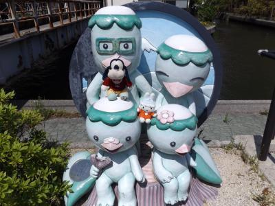 グーちゃん、GWに鳥取へ行く!(城下町米子を徘徊、坊主丸儲けなのか?編)
