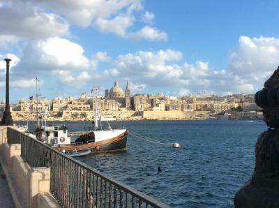 ポンコツ爺さんのマルタ留学日記 3 【9/3(日):バレッタ(Valletta)観光】