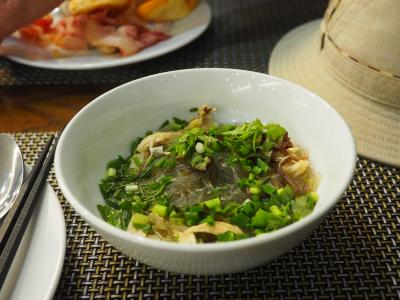 2018年3月、ベトナム、ハノイ旅行(13.26日の朝食)