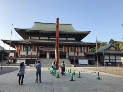 GW セブ・ソウル旅行 1 成田観光・出発編 成田山表参道と第3ターミナル