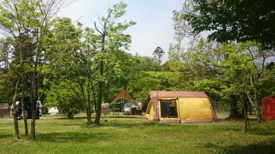 2018年GWキャンプ・休暇村越前三国オートキャンプ場