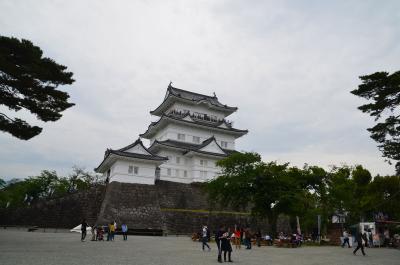 神奈川県へ 2018.05.02 =2.帰路に小田原城に寄りました=