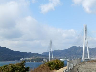 まだ寒かったしまなみ海道
