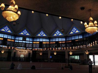 マレーシアひとり旅<1日目> 国立モスクとイスラム美術館