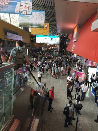 台北行香港経由広州への展示会参観の旅 6