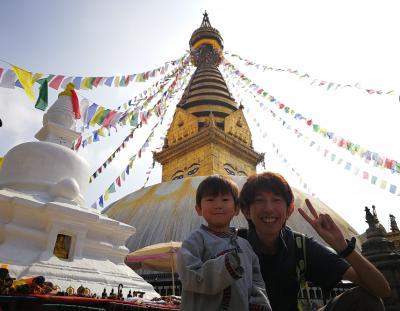 ネパール子連れ旅!3歳次男と初めての2人旅!(カトマンドゥ・ポカラ・ダンプス・オーストラリアンキャンプ・ナガルコット・パシュパティナート・スワヤンブナート)