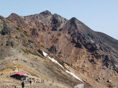快晴の下、那須の名山を歩く ≪茶臼岳~朝日岳≫