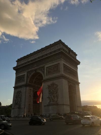 初欧州:パリ(と近郊)ひとり旅 [1]パリ、憧れの街上陸編