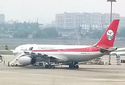 四川航空、上海航空、中国東方航空のビジネスクラスで行く四川成都とバンコクGW4日間 その1 関空から四川航空で成都経由のバンコクまで 途中でまたまたパンダを観てきました