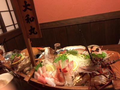 2017/12/31-2018/1/1 下田-西伊豆 漁火の宿大和丸
