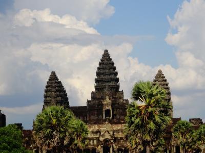 GWカンボジア一人旅:朝日から夕日までアンコール遺跡まるっと観光