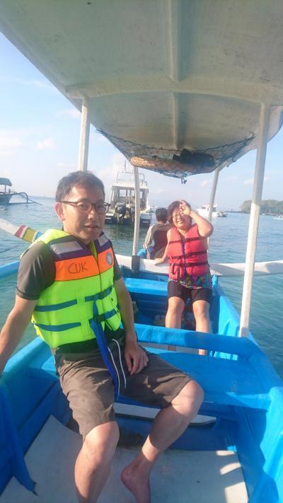 2018GW パダンバイで海遊び 頑張る初バリJ太くん