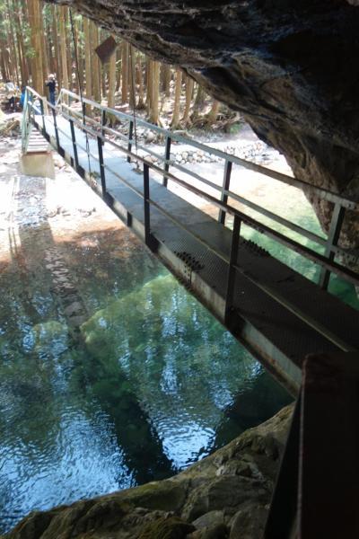 GWも混雑回避☆紀伊半島斜め縦断で岩と水を見る旅3泊4日 〈第2日目・天川村でpart2〉
