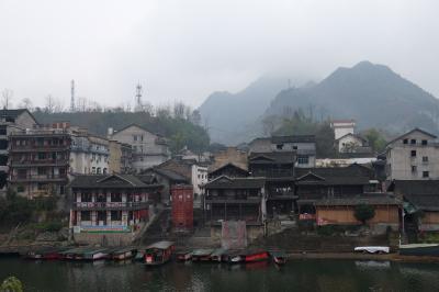 辺城洪安古鎮 / 重慶~湖南省の古鎮を巡る旅⑦