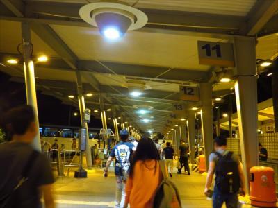 またまた夏の北京17★香港到着後 MTRとバス乗り継いで深センへ