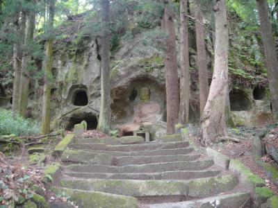 「和田大仏及び横穴墓群」福島県須賀川市和田