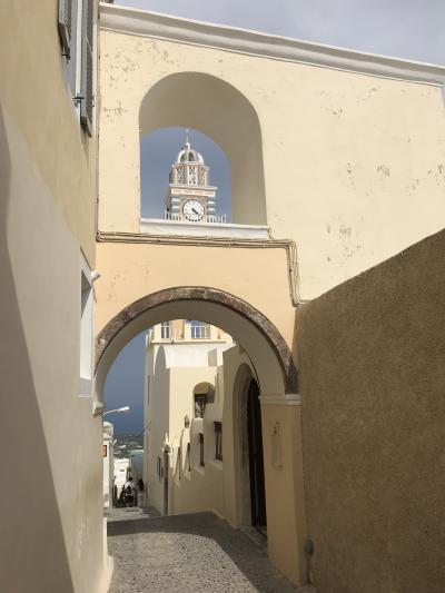 エーゲ海の絶景サントリーニ島と神話の街アテネを巡るギリシャの旅② 憧れのサントリーニ島、美しい夕陽に感動