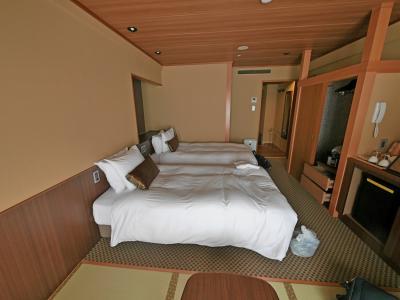 函館に桜を見に行く4-函館湯の川温泉 ホテル万惣に宿泊 翌朝大沼に向かう