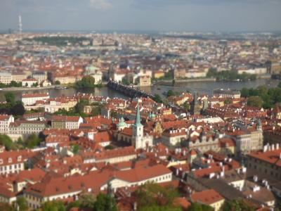 2018年GW 4泊5日で中欧5ヵ国を駆け抜ける弾丸ひとり旅 プラハ市街地を見下ろす