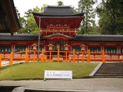 2018年 奈良旅行 3日目は春日大社と頭塔を見に行きます