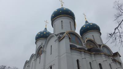 春のロシアは真冬並み【5日目 モスクワ】