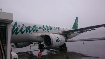 201805,GW,小学生と北海道から上海へ,1,LCC春秋航空に乗ったよ