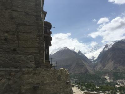 印~パ~中 陸路国境越え パキスタン後編 ワガ国境からクンジュラーブ峠までのうちフンザ以降 (2018GW)