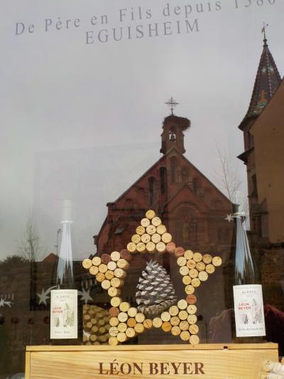 アルザス・ワイン街道を行く23 クリスマスのエグイスハイム