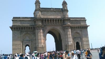 [1]インド・ムンバイとマハラジャの町々(ラジャスタン州)周遊の旅[ムンバイ編]