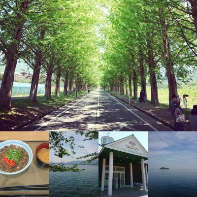念願の琵琶湖一周ツーリング