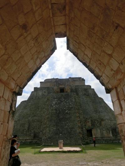 メキシコ世界遺産探訪 7日間 【4日目】 ウシュルマル遺跡・カバー遺跡
