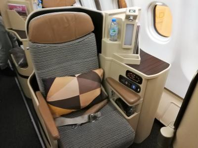 GWアブダビ・カイロ乗り継ぎでフィレンツェとローマへ♪(1)往路はエティハド航空ビジネスクラスとエジプト航空ビジネスクラス利用 NRT/AUH/CAI/FCO 2018年5月