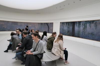 フランスパリからアルザス旅行9日間(パリ3日目はオランジュリー美術館とセーヌ川遊覧)