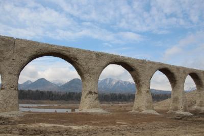 どこかにマイルで、帯広からタウシュベツ橋梁へ