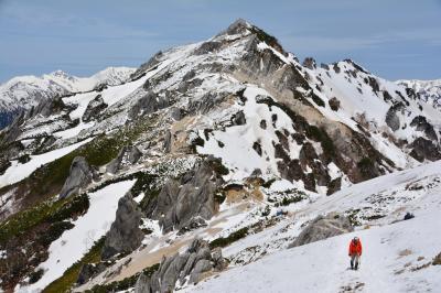 北アルプスの女王に逢いに♪ 【残雪期】燕岳日帰り登山
