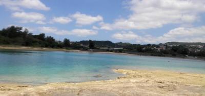 GWを少しずらして、お得に沖縄へ Vo.1  ~ 午前中は奥武島でAOWの講習。午後はやちむん散歩へ~